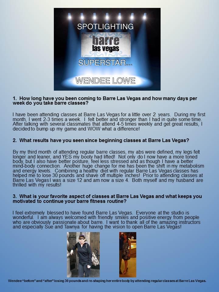 Wendee Lowe - BLV spotlight story